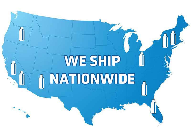 Water Bottles shipped Nationwide!